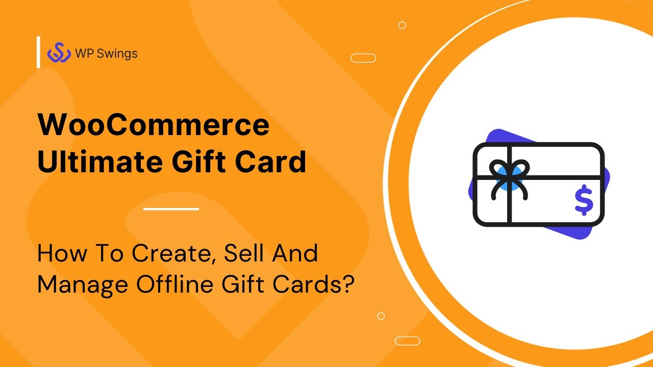 Offline Gift Card Feature Woocommerce Gift Card Plugin 2018 By