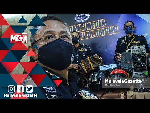 MGNews : Geng Ayoi Gombak Tumpas - KP Kuala Lumpur