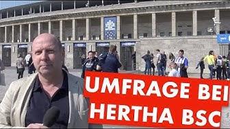 Umfrage bei Hertha BSC - Stadionneubau? Ja/NEIN
