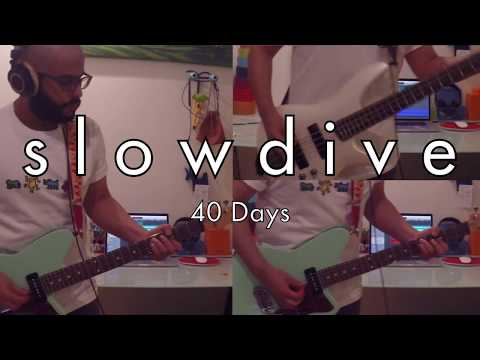 Slowdive   40 Days Guitar amp Bass Cover