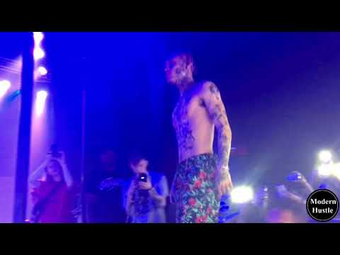 Lil Skies Brings Out Lil Xan And Performs - BETRAYED (live)