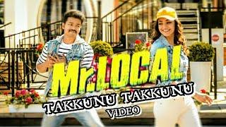 Thalapathy 💚 Kajal | Takkunu Takkunu | MR Local | Song