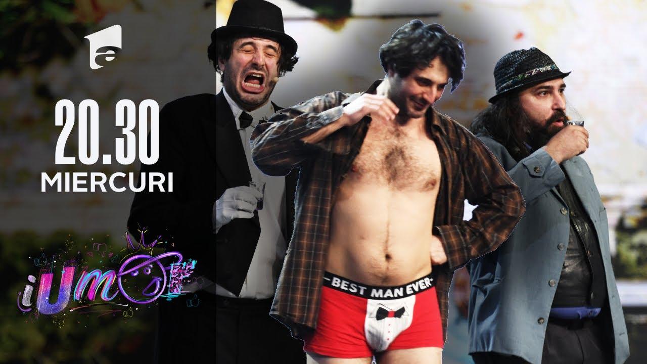 Compania de Teatru Cristi Toma, numărul la care Cheloo a râs cu lacrimi | iUmor 2021
