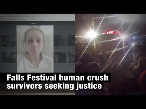 Falls Festival human crush survivors seeking justice