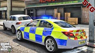 VAUXHALL INSIGNIA| BRITISH PATROL!!!| #140 (GTA 5 REAL LIFE PC POLICE MOD)
