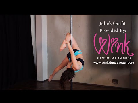 Free Online Pole Lesson Julie's Signature Transition - Cupid To Janeiro