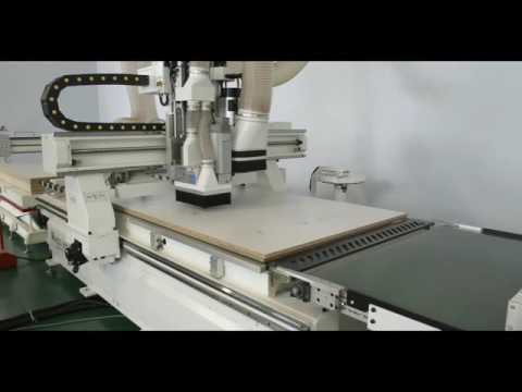 CNC machine center plus edge bander can set up new MDF furniture factory