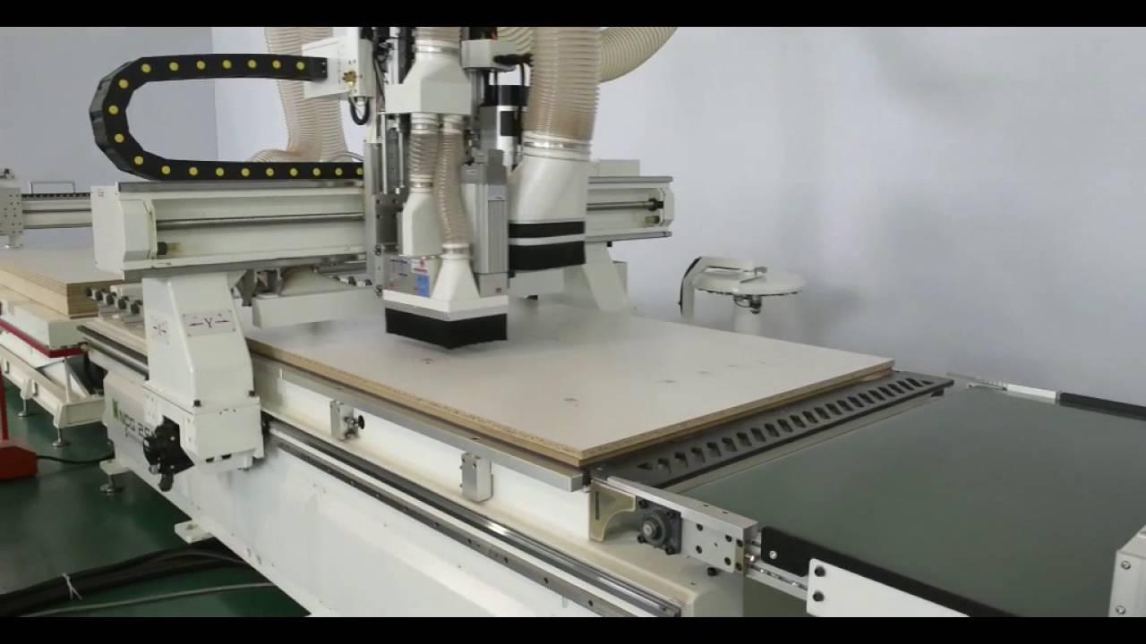 Cnc Machine Center Plus Edge Bander Can Set Up New Mdf