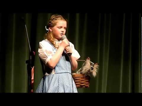 "Holly - ""Somewhere Over the Rainbow"" - Geist Elementary School Talent Show 2013"
