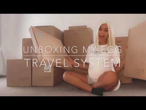 Unboxing My Egg Stroller Travel System