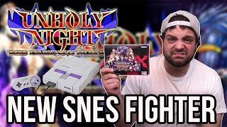 New SNES Fighting Game Unholy Night - It's Not Great! | RGT 85