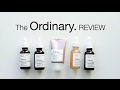 The Ordinary Review Pt 2 | Retinoid, Vitamin C, Lactic/Azelaic Acid, Rose Hip Oil