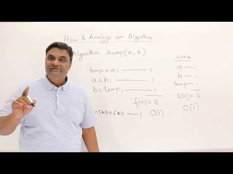 1.3 How Write and Analyze Algorithm