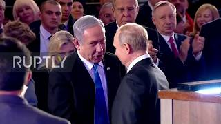 Israel: Putin, Netanyahu inaugurate Siege of Leningrad memorial in Jerusalem