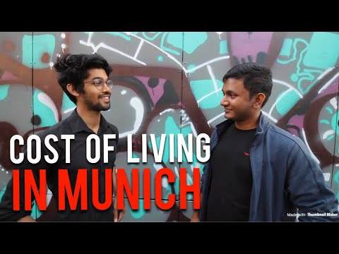 COST OF LIVING IN MUNICH AS A STUDENT / #StudyinGermany