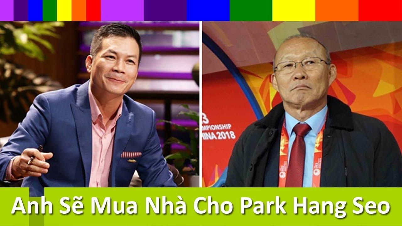 """Shark Tank Việt Nam Tập 12 - Shark Hưng """"chơi lớn"""" tặng nhà cho HLV Park Hang Seo"""