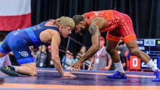 Kyle Dake (TMWC) vs. Jordan Burroughs (Sunkist Kids) - 2017 U.S. Open Finals