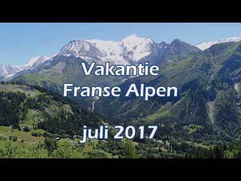 Vakantie Franse Alpen juli 2017