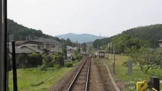 JR East Hanawa Line Koma ⇒ Appi Kogen Führerstandsmitfahrt JR東日本花輪線 好摩⇒安比高原 前面展望