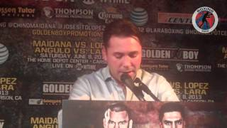 Boxing 360 - Maidana - Lopez - Angulo - Lara Los Angeles Press Conference Part 8