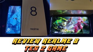 UNBOXING AND REVIEW REALME 8 TES PUBGM GENSIN INPACT