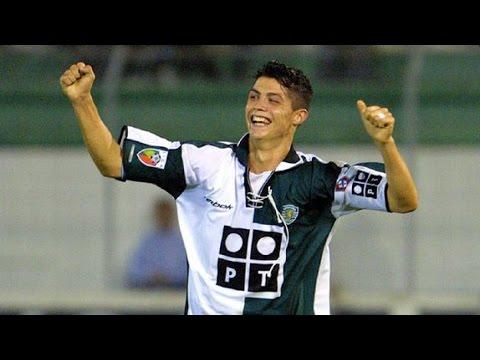 Cristiano Ronaldo - Sporting Clube de Portugal - 1080p