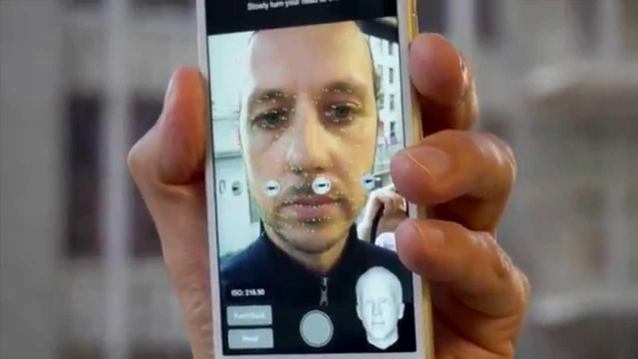Seene High Resolution 3D Facial Capture