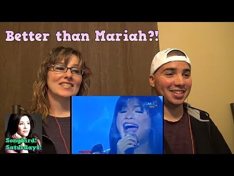 MOM & SON REACTION! MARIAH CAREY Medley - Regine Velasquez