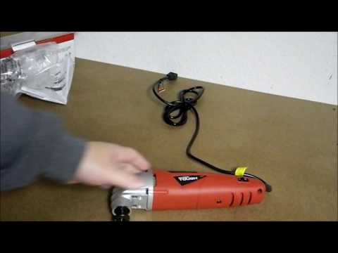 Hyper Tough Oscillating Tool Unboxing