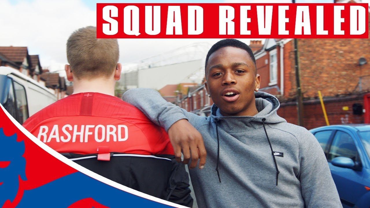 483695f6f England's World Cup Squad Revealed! | World Cup 2018 - YouTube