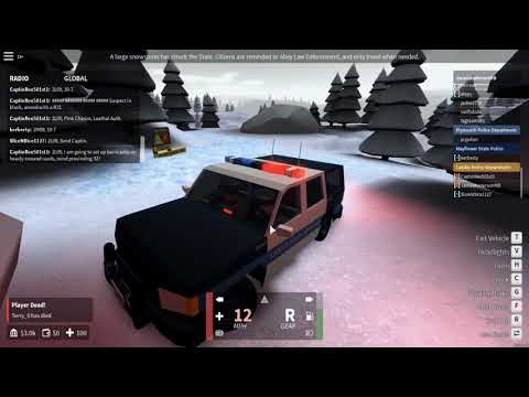 ROBLOX | Mayflower | Lander Police Department | Winter Trio Special!!