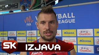 Dušan Petković Nakon Trijumfa nad Kanadom 3:2 u Ligi Nacija | SPORT KLUB Odbojka