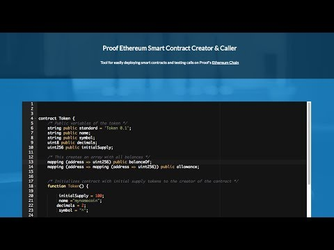 How To Quickly Code & Use Ethereum Smart Contracts