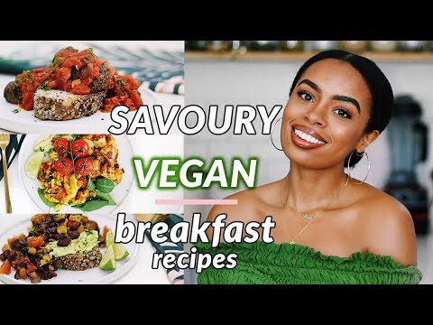 DELICIOUS Savoury Vegan Breakfast Recipes! | no tofu – soy free