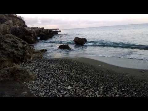 Guantánamo Navy base's Girl Scout Beach through Google Glass