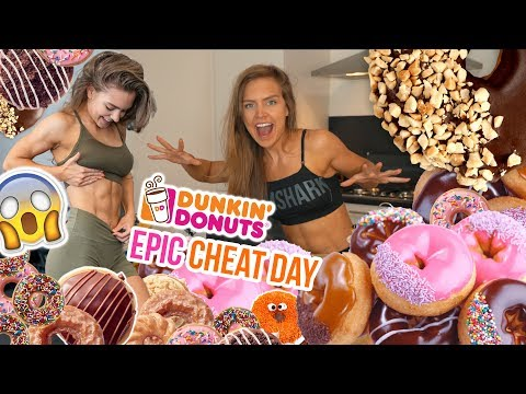 Eating the ENTIRE Dunkin' Donuts MENU!