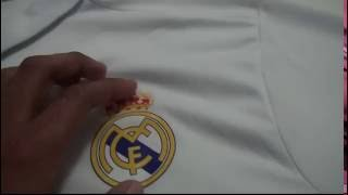 gogoalShop.com Juventus soccer pants and Real Madrid Home Jersey REVIEW