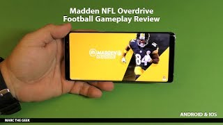 Madden NFL Overdrive Football Gameplay Review