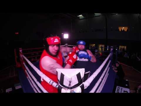 Ultra White Collar Boxing | Basildon | Martin Barbouti VS Zak Neave