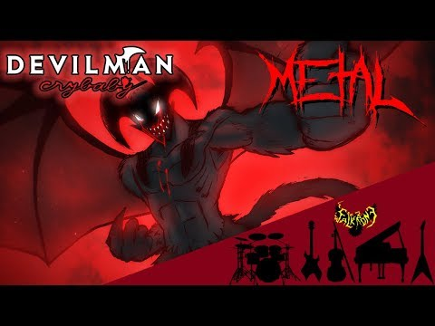 DEVILMAN crybaby - D.V.M.N. (Ending Theme) 【Intense Symphonic Metal Cover】