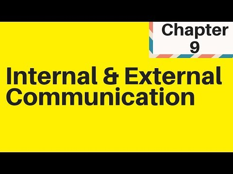 2.4 Internal And External Communication IGCSE Business Studies