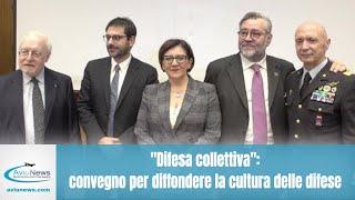 """""""Difesa collettiva"""": convegno per diffondere la cultura della difesa"""