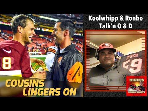 49ers Head Coach Kyle Shanahan & Kirk Cousins Reunion Talk Rekindled