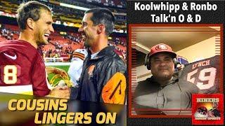 49ers Head Coach Kyle Shanahan & Kirk Cousins Reunion Talk Rekindled thumbnail