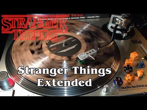 Stranger Things Vol. 2 - Stranger Things Extended - Salt & Pepper Clear Smoke Vinyl LP