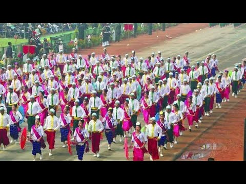 Mog Childrens from NorthEast Awarded on Republic Day 2018 @ New Delhi