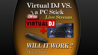 Virtual DJ & Denon MC8000 on a tiny PC Stick - Will It Work?