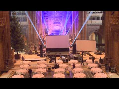Liverpool & Sefton Chambers of Commerce Annual Dinner Set Up Timelapse