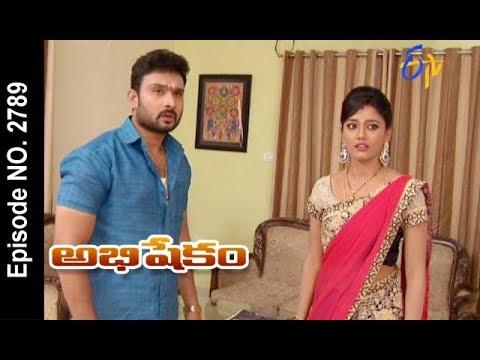 Abhishekam   25th December 2017    Full Episode No 2789  ETV Telugu