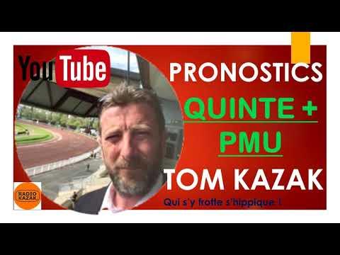 VENDREDI 17 SEPTEMBRE PRONOSTICS QUINTE PMU TURF TOM RADIO KAZAK
